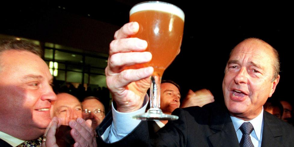 Jacques Chirac aime la Vraie Bonne Bière