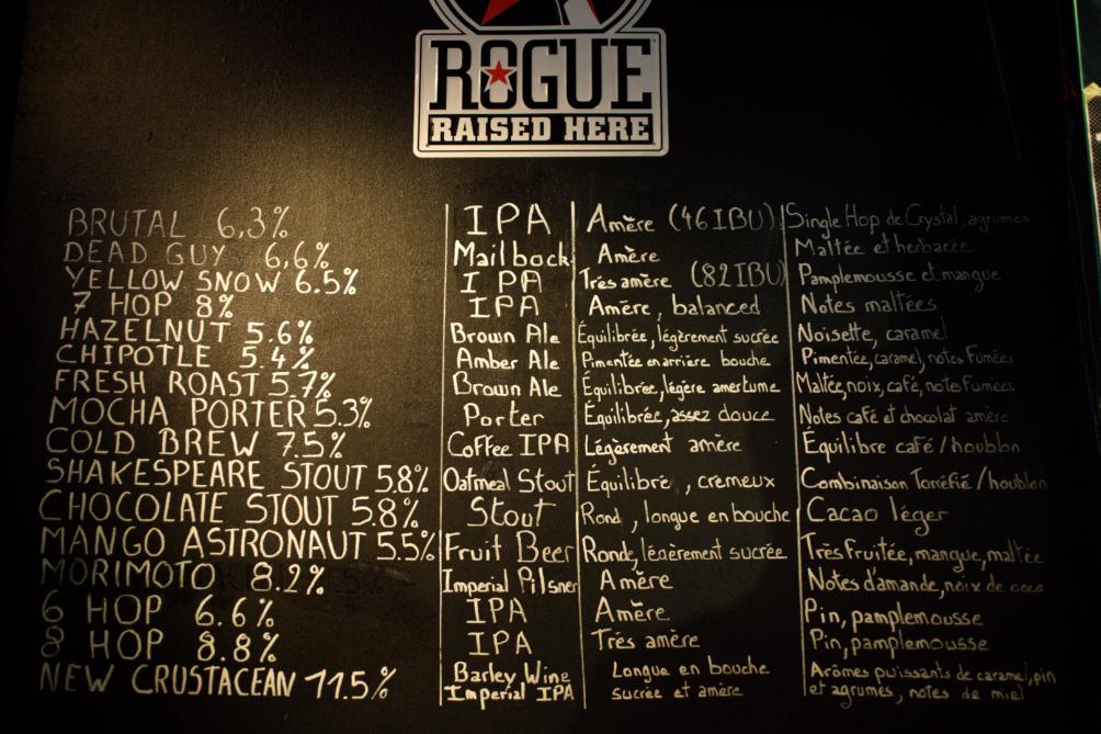 Rogue Brewery HOPUP